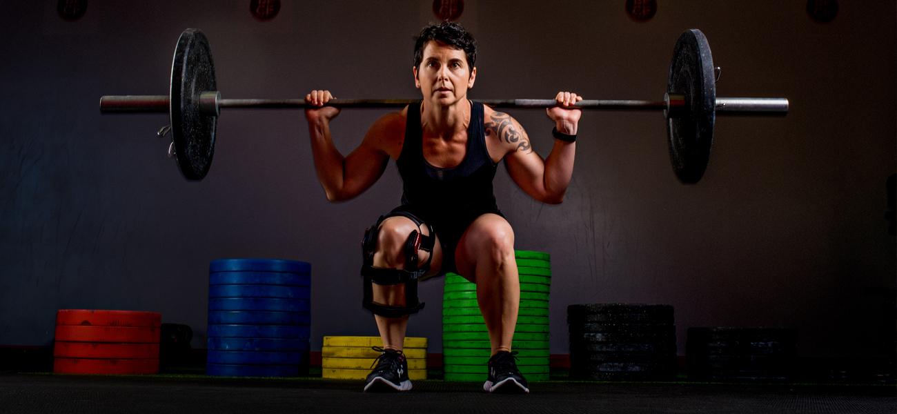 Training after knee injury