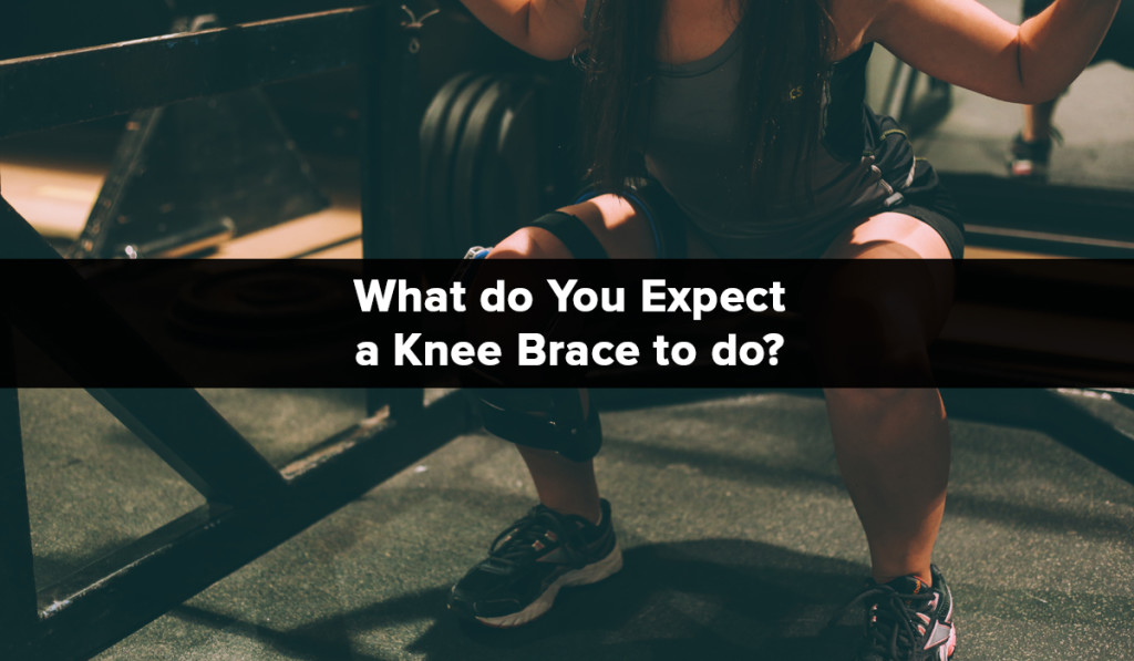 Spring Loaded Technology - Blog -What do you expect a knee brace to do
