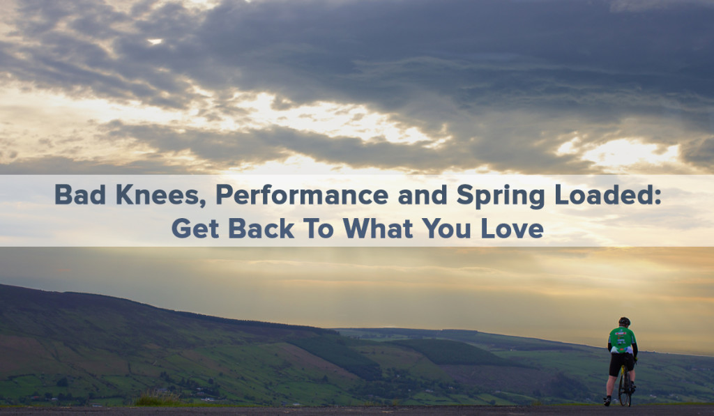 Spring Loaded Technology - Blog - Bad Knees, Performance, and Spring Loaded
