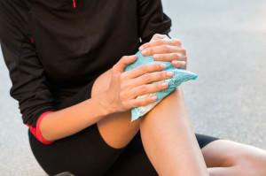 knee injury RICE