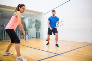 squash sports knee pain