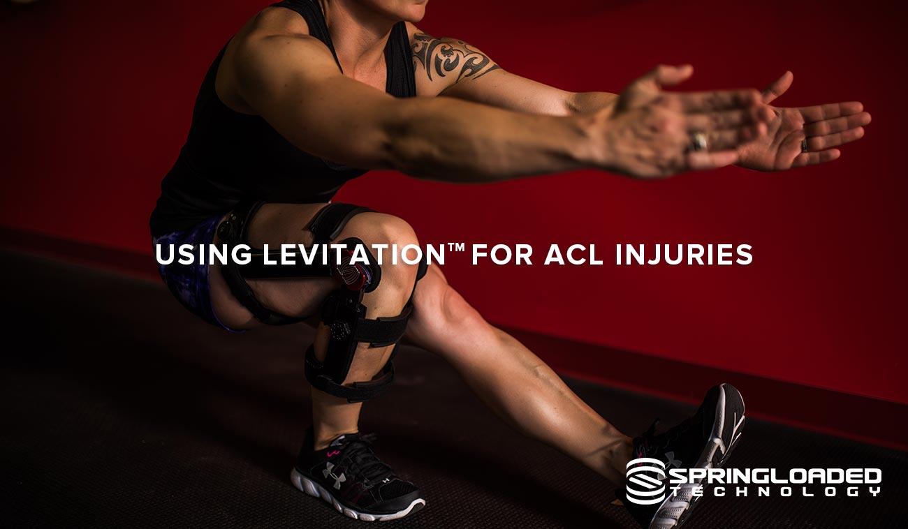 Yoga knee brace ACL injury