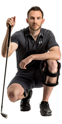 Reduce fatigue with knee brace