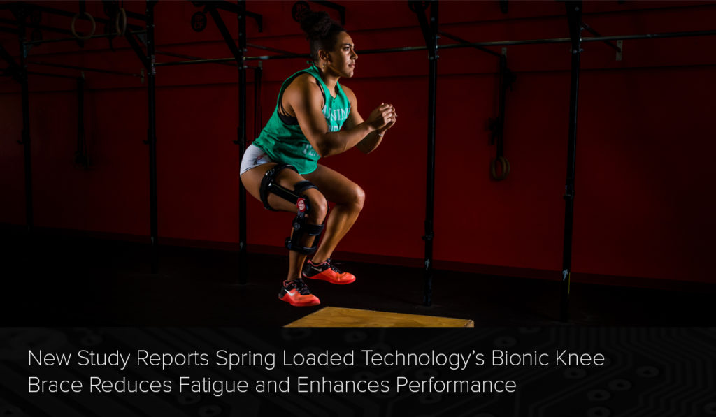 Spring Loaded Technology Bionic Knee Brace Third Party Study