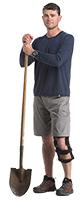 Levitation Knee Brace - Spring Loaded Technology
