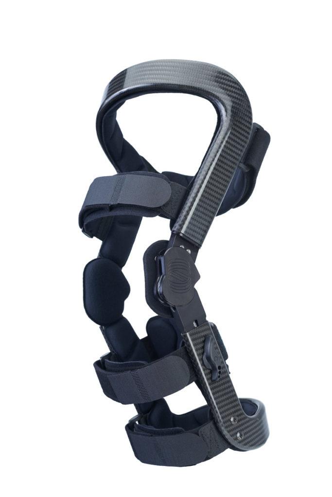 Unloader knee brace for knee arthritis
