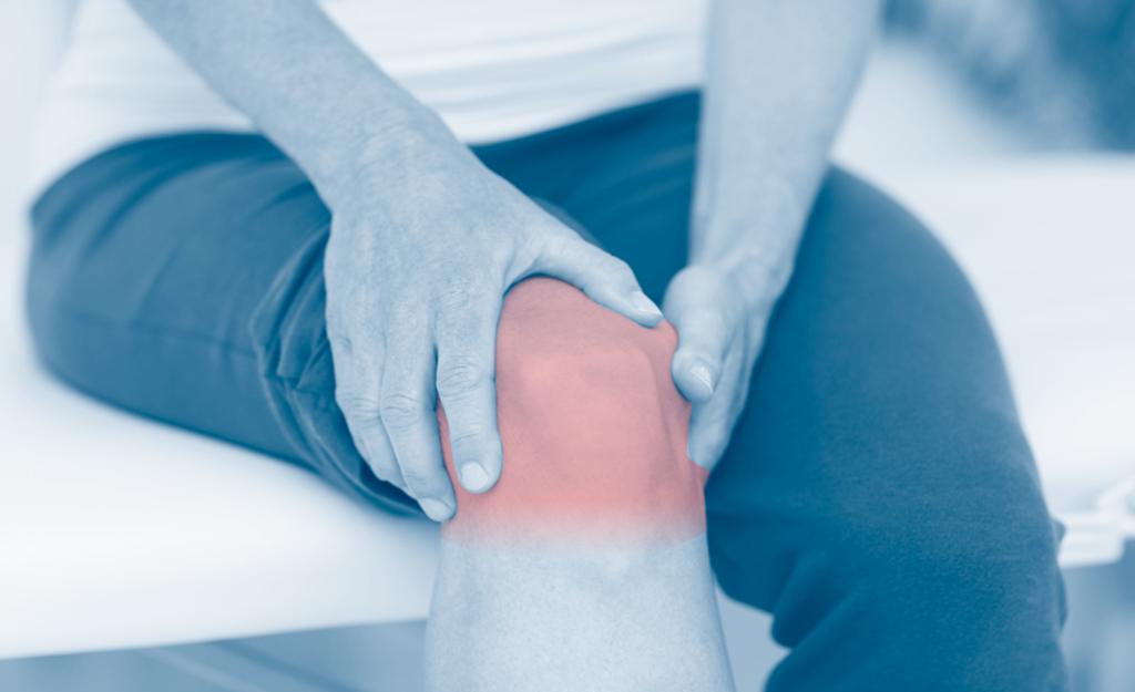 Pain from bone on bone pressure in knee