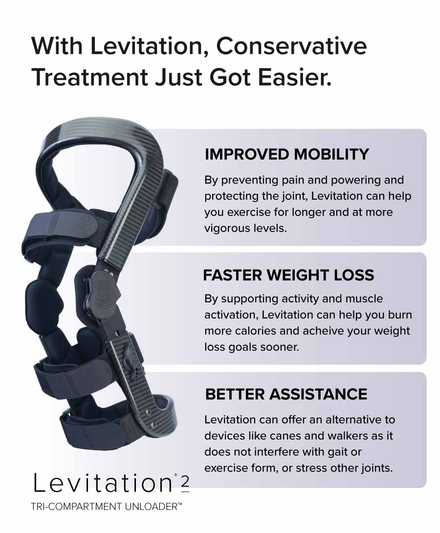 levitation supports conservative treatment