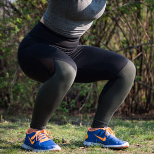 anti-gravity knee brace will need to reduce forces of body weight while squatting